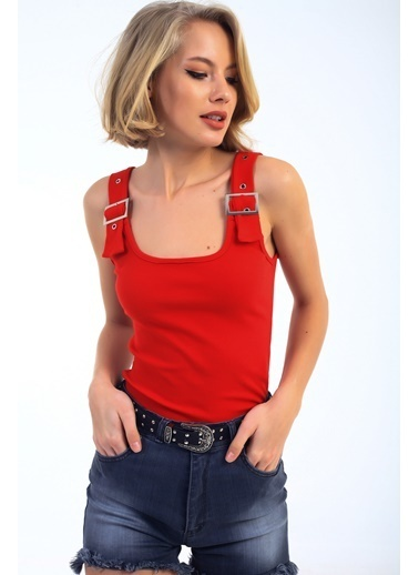 Emjey Bluz Kırmızı
